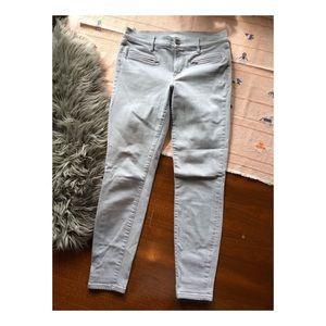 Loft light grey jeans